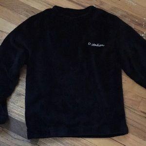 Tops - D.station fuzzy shirt